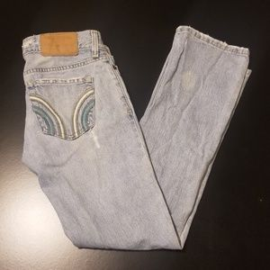Hollister Jeans Distressed Size 0